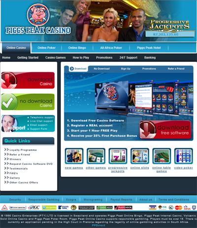 Piggspeak casino flash 770 casino